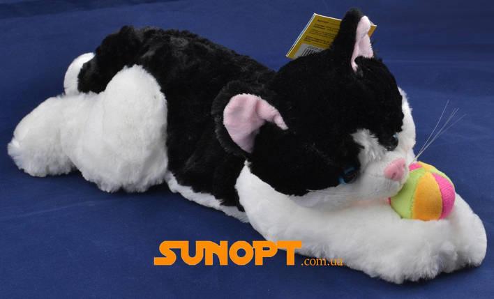 Мягкая игрушка Кот с подарком (Озвученная)  40 см №56-1, фото 2