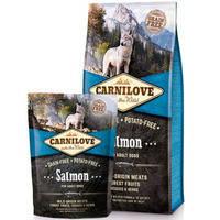 Сухой корм Carnilove Dog Salmon Adult для щенков. Беззерновой 12 кг.