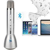 Микрофон для караоке Bluetooth со встроенным динамиком K068 - беспроводной микрофон, фото 1