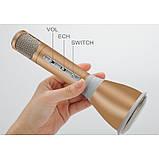 Микрофон Bluetooth караоке K068 - беспроводной микрофон, фото 5