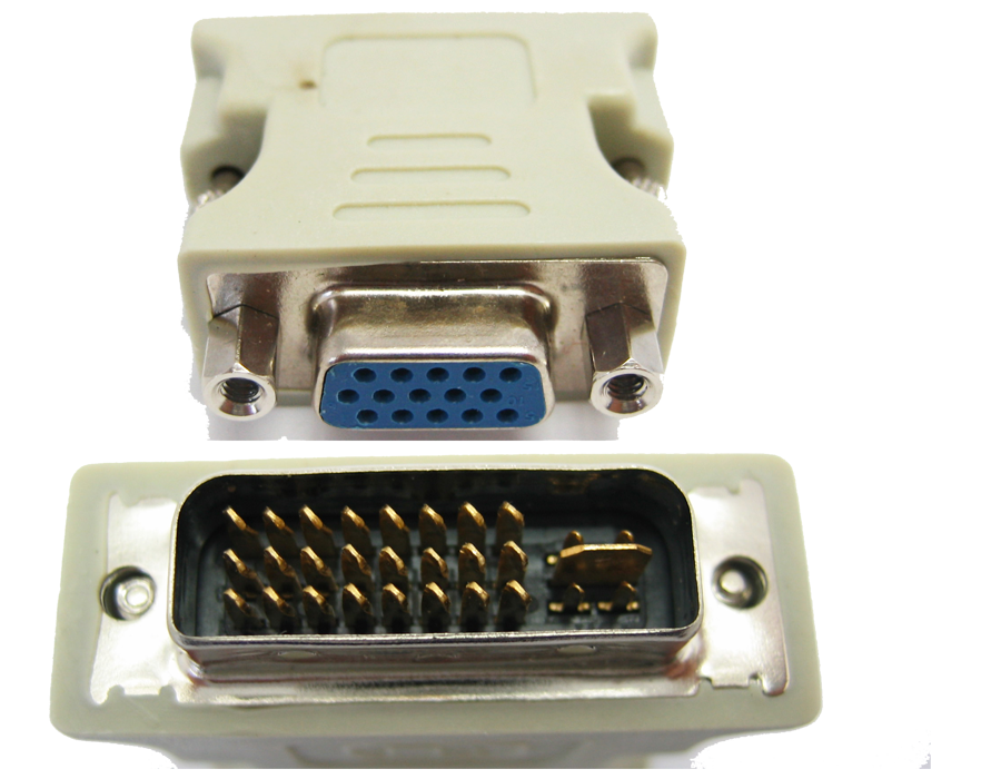 Перехідник DVI-I-VGA
