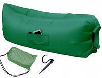 Надувной шезлонг — Standart (зеленый)