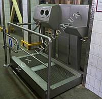 Санпропускник  с встроенным бесконтактным умывальником и сушкой для рук СПД 05.01(правосторонний)