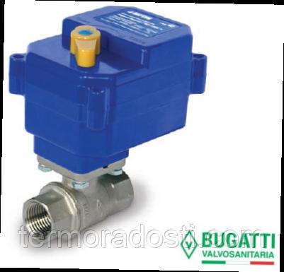 Кран с электроприводом Neptun Bugatti Pro 220B 1/2' (система защиты от протечки)