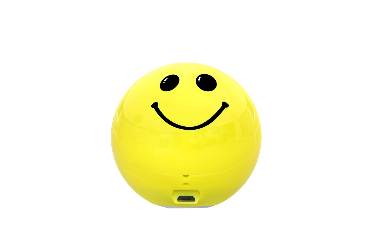 Bluetooth колонка Promate Smiloji Yellow