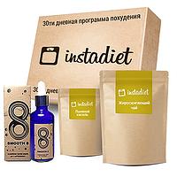 InstaDiet для похудения (жиросжигающий чай, коралловая вода и льняной кисель)