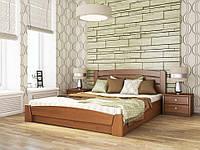 Деревянная кровать «СЕЛЕНА АУРИ» (бук) с подъемным механизмом