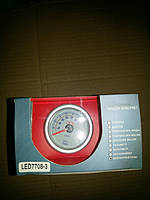 7708-3 LED Температура выхлопных газов стрелочный диам.52мм, фото 1