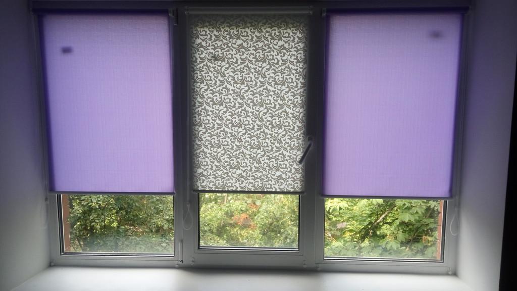 Тканевые ролеты на окна Рулонные шторы на пластиковые окна