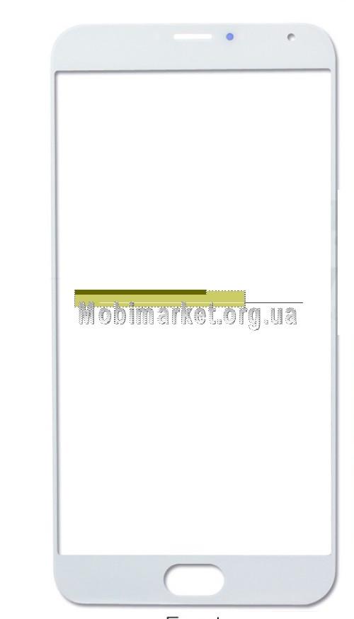 Скло модуля для Meizu MX5 біле