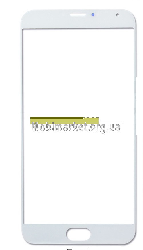 Стекло модуля для Meizu MX5 белое