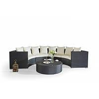 Коротко об уличной мебели из искусственного ротанга