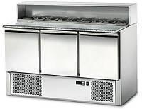Стол холодильный для пиццы 136х70х108 см. GGM