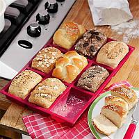 Форма для выпечки хлеба и булочек силиконовая