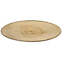 Блюдо меламиновое для подачи 65х27х3,2 см. овальное, под дерево American Metalcraft