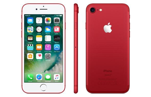 apple, iphone, 7, 7 plus, red
