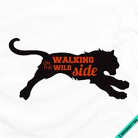 Термонаклейки на челочно-носочные изделия Walking on the wild side [7 размеров в ассортименте]