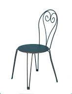 Стул, кресло пластиковое Ibiza . Мебель пластиковая, садовая