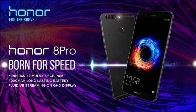 Huawei, Honor 8 Pro, Honor V9
