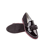 Модные подростковые туфли оптом. Туфли для девочек от фирмы Леопард GB16-1 (8пар, 30-37)