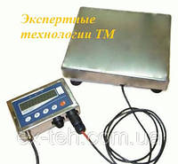 Товарные нержавеющие электронные весы ТВ1-30-5-(400х550)-12h до 30кг.
