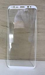 Защитное стекло Full screen для Samsung Galaxy S8 (G950) Белое