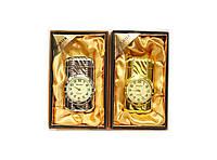 Зажигалка турбо подарочная часы Lighter Золото, серебро