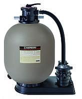 Станция фильтрации Hayward 600мм, 14м3 / ч, для 150кг песка, 0,75кВт. Бассейн 42-56 м3