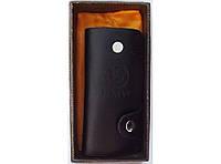 Ключница BMW в подарочной упаковке, ключница карманная, ключница для ключей, кожаная ключница bmw