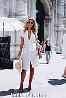 Женское летнее платье из шелка