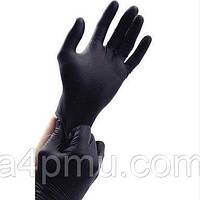Перчатки SAFETOUCH BLACK нитриловые без пудры S