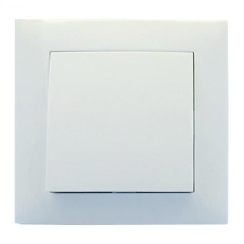 Выключатель RIGHT HAUSEN 1-й внутренний  белый