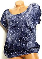 Блуза штапель модель №5 размер 2XL
