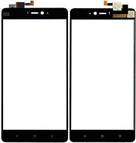 Сенсор (тачскрин) для Xiaomi Mi4i черный Оригинал