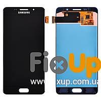 Дисплей Samsung Galaxy A5 A510 (2016) с тачскрином в сборе, цвет черный, оригинал