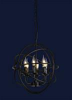 Светильник подвесной LOFT L527318-6 BK