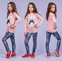 Туника на девочку Турция. Safari Kids 7531-2 7-R. Размер на 7 лет.