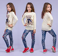 Туника на девочку Турция. Safari Kids 7531-3 6-R. Размер на 6 лет.