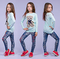 Туника на девочку Турция. Safari Kids 7531-4 7. Размер на 7 лет.