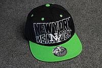 Фирменная мужская кепка реперка New York