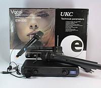 Радиомикрофоны UKC EW500H с гарнитурой