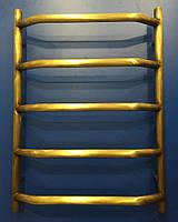 Бронзовый водяной полотенцесушитель 500*700 Ольха 5