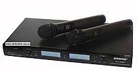 Микрофонная радиосистема Shure SVX-SM58, 200 каналов, UHF, радиомикрофоны 2шт., беспроводная радиосистема