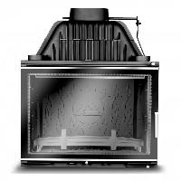 Каминная топка KAW-MET W17 (16 кВт) Decor с шибером