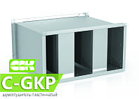 Шумоглушитель пластинчатый канальный C-GKP-40-20