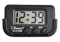 Автомобильные часы Kenko KK 613 BM, авто часы, часы электронные в автомобиль, маленькие автомобильные часы,