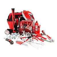 Набор инструментов для автомобиля Авто-помощник 35 единиц INTERTOOL BX-1002
