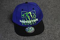 Фирменная мужская кепка реперка Monster Energy