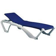 Лежак Marina. Мебель пластиковая, садовая