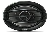 Автоколонки TS 6974, автомобильная акустика Пионер, Коаксиальная акустическая система 3-полосная